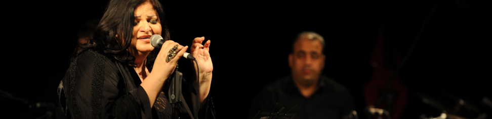 Lebanese artist Jahida Wehbe enriches Sharjah World Music Festival with poems by top poets