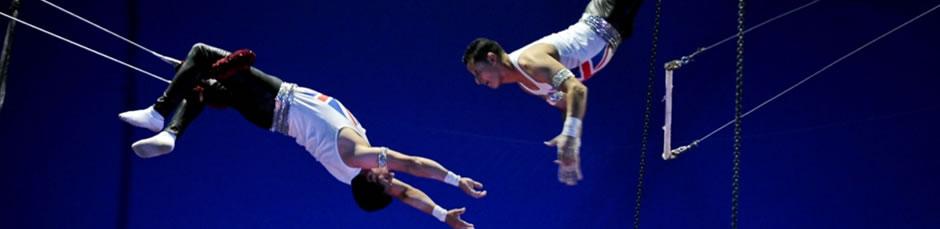 Latino Circus performances amaze and amuse spectators at Al Qasba