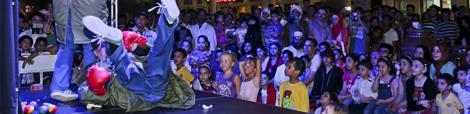 Al Qasba's visitors enjoy comedy stage shows, educational and fun activities planned for Eid Al Adha